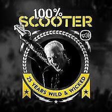 100% Scooter-25 Years Wild &Wicked(Ltd.Deluxe Box) von Scooter (2017)