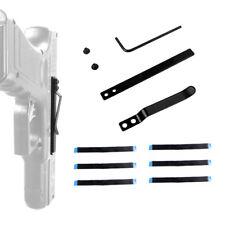 Concealed Carry Waist Belt Pocket Clip Gun Holster for 1911 Glock Ruger S&W M92
