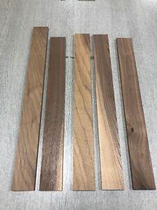 Walnut Timber Boards PAR (offcuts) 5 length 58x10x500mm minimum.