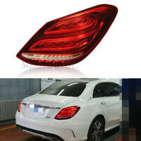 Right Side Rear Tail LED Light Lamp for Mercedes Benz C Class W205 Saloon 14-18
