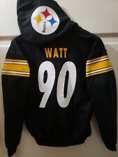 Pittsgurgh Steelers Ben Roethlisberg Jersey Style Hoodie Hoody Hooded Sweatshirt