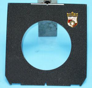 Wista (Linhof 96 x 99 mm size) Lens Board for 4x5 5x7 8x10 Cameras - 59 mm hole