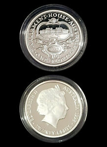 1954 99.9% Proof Silver FLORIN from 1998 Masterpieces Silver Set - 13.36g 20c