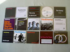 THE ENEMY job lot of 15 CD/promo CD/DVDs It's Automatic This Is Real Saturday