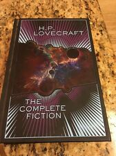 H. P. Lovecraft The Complete Fiction,  Leather Bound, Gilt Edge, HC, B&N Edition