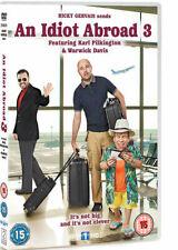 Un Idiot Abroad 3 Karl Pilkington Warwick Davis Ricky Gervais Sky GB DVD L Nuevo