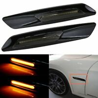 Amber LED Side Marker Turn signal Light For BMW E90 E91 E92 E39 E60 E46 E83 E81