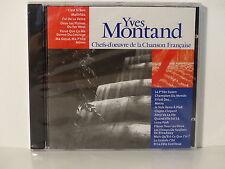CD ALBUM Chefs d oeuvre de la chanson francaise YVES MONTAND CF 018  NEUF