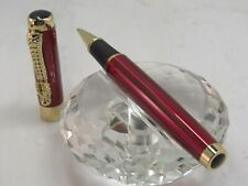 HIGH QUALITY JINHAO DARK RED WITH DRAGON CLIP WITH RED EYES ROLLER BALL PEN