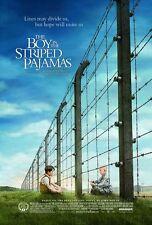 BOY IN THE STRIPED PAJAMAS - 2008 -  original 27x40 d/s MOVIE POSTER- Holocaust