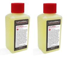 2x LotusGrill 200ml Brennpaste Brenngel für den raucharmen Holzkohlegrill Grill