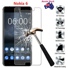 9H 0.3MM Tempered Glass Screen Protector For Nokia 6 Cover Entire Flat Screen