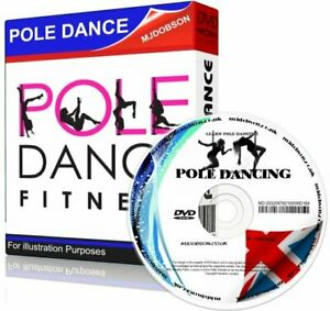 LEARN POLE DANCING FOR BEGINNERS - ADVANCED 4 DVD STEP BY STEP GUIDE FITNESS