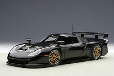 AUTOart 89770 * PORSCHE 911 GT1 PLAIN BODY VERSION (BLACK) 1997 * 1:18