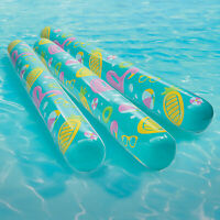 SUN Searcher Water Worms Inflatable Noodles Set of 6 Renewed
