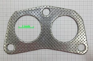 Civic Crx Accord Del Sol 4-2-1 2-Hole Header Exhaust Racing Down Pipe Gasket D16