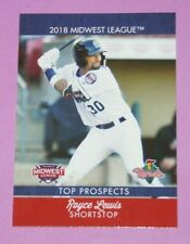 2018 Choice, Midwest League T/P, Cedar Rapids Kernels - ROYCE LEWIS
