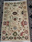 Hand Knotted Peshawar rug 5.10x3.7 ft