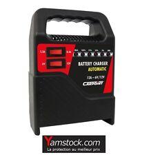 Chargeur de batterie 12 Amp voiture auto bateau camping car 6v 12v - 12 amperes