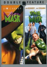 The Mask + The Son of the Mask (Jim Carrey) New DVD Region 1