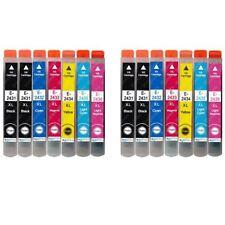 14 Ink Cartridges (Set+Bk) for Epson Expression Photo XP-55 XP-760 XP-860 XP-960