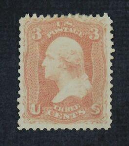 CKStamps: US Stamps Collection Scott#65 3c Washington Unused NG