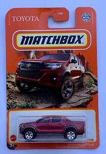 Matchbox Toyota Hilux Hi-Lux Pickup Invincible SR5 Sport Revo Rocco TRD Jdm Oem