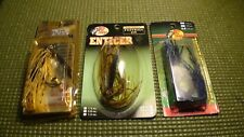 jigs skirted weedless   Stanley Platinum and Bass pro shop Qty 3