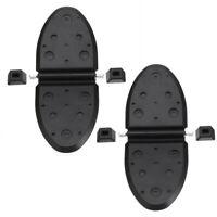 Paar Schwarz Auspuffklappen Wasser Shutters für Mercruiser 807166A1 1998 - up