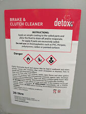 Brake And Clutch Cleaner 20 Litre 20L 20 L - Free Delivery