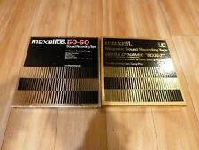 2 Maxell UD 50-60 & Maxell UD35-7 Tapes