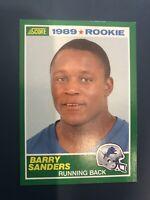 1989 Score Barry Sanders RC #257 LIONS NM. w/ Snap Case.