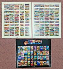 Combo 1 each GREETINGS FROM AMERICA 34¢ & 37¢ & WONDERS OF AMERICA 39¢ US Stamps