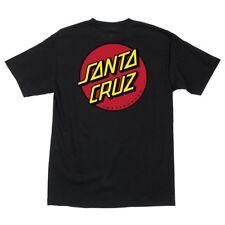 Santa Cruz Skateboards Old School Classic Dot T-Shirt Black
