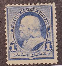 Scott 219 - 1 Cent Franklin - OG MH - Very Light Hinge - SCV - $20.00