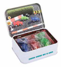 Gift In A Tin - Mini Racing Cars Micro Play Set Kids Gift *Free Delivery*