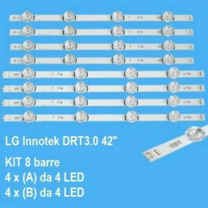 "BARRE STRIP LED AGF78402101 PER TV LG 42LB550V-42LB561V -42LB570V-42LF5800""ES4"""