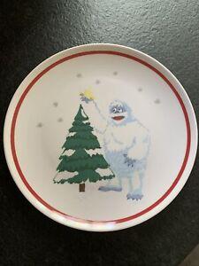 Pottery Barn Kids Abominable Snowman Christmas Plate