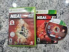 NBA 2K12 Xbox 360 Microsoft #1 NBA Video Game LARRY BIRD Cover - Complete - Rare