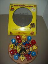 "Holgate Toys ""Hickory Dickory Dock"" Wooden Educational Clock"