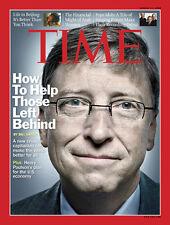 TIME Magazine Bill Gates Henry Paulson Ritt Bjerregaard Michael Kinsley Joe Klei