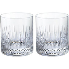 Dartington Crystal Limelight Mitre Tumbler Glasses Pack of Two - BOXED