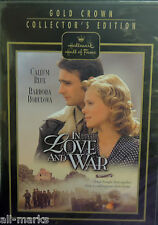 """Hallmark Hall of Fame  """"In Love and War"""" DVD -New & Sealed"""
