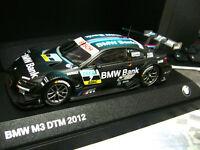 BMW M3 E92 Coupe DTM 2012 #7 Spengler Schnitzer M Bank BMW Minichamps SP 1:43