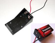5 X Soporte para caja de batería 9V PP3 para efectos de Guitarra Pedal