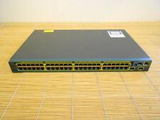 Cisco Catalyst WS-C2960S-48TS-S 50x Gigabit Port Switch
