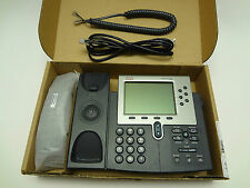 CISCO CP7960 7960G 6-line SIP phone for Asterisk with power adpater in Cisco box