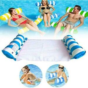1pcs Inflatable Float Chair Float Pool Swimming Chairs Lounge Y