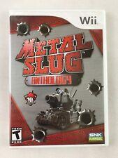 Nintendo Wii Metal Slug Anthology (2006), NTSC US, Brand New & Factory Sealed