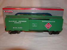 Williams by Bachmann 47452 REA 40 Ft Refrigerator Car O 027 MIB Railway Express